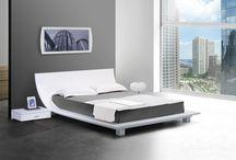 Sivá spálňa - grey bedroom