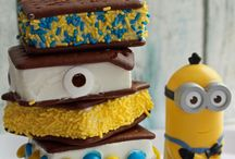 Minion ice cream cake