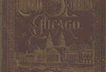 """World's Columbian Exposition, Chicago 1893 / London's 1851 Crystal Palace Exposition is recognized as the first in a series of World's Fairs. Chicago showcased their recovery from the 1871 Great Fire while recognizing the 400th anniversary of Christopher Columbus' discovery of the New World. All the buildings from the participating countries, states, organizations and businesses were laid out to demonstrate a modern city's potential. To save time and money, all the buildings were sprayed white resulting in the name """"White City""""."""