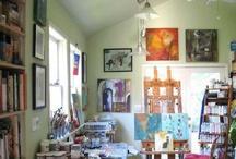 Artist Studios / by Michelle Trahan Carson Studio