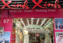 Áo cưới / Studio Áo Cưới Xinh Xinh chuyên may áo cưới, bán & cho thuê áo cưới cao cấp, chụp hình cưới. Website: aocuoixinhxinh.com
