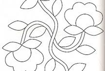patrones / diseños de bordados y muñecos