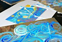 Kid painting project ideas