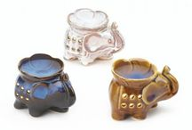Oil Warmers / Incense and oil burners - oil warmers is just what you need to fill your space with sweet aroma and some sculptural style. Fill it with your favorite scented oils and light a tealight candle inside to fill your room with wonderful aroma!