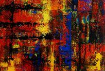 """Exhibition """"ANSGAR DRESSLER"""" / A autonomia dos trabalhos do artista alemão Ansgar Dressler revela-se através da liberdade da cor. As formas quase quadriláteras juntam-se e separam-se, geram volumes e espaços, ritmos e luzes. As cores mobilizam as formas, a tinta avança sobre a cor anterior e lhe confere um efeito de continuidade. O cromatismo é o elemento dominante em cada trabalho  (José Roberto Moreira, curador e galerista)."""