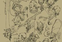 Calum Alexander Watt sketches