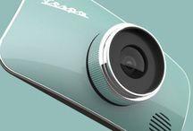 Cool Vespa digital camera concept