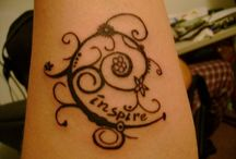 tattoos / by Maddie Draper