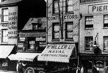 Vintage high street shops