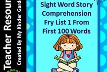 My Kinder Garden TPT Store / I offer a wide variety of Teachers Pay Teachers (TPT)  resources for sell which mainly focus on grades preschool-3rd grade. My teacher resources include math, reading, writing, sight words, worksheets, flashcards, and posters. I hope you enjoy all that my store has to offer! #tpt #teacherspayteachers #kindergarten #firstgrade #secondgrade #thirdgrade #teachers