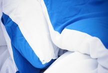 White/Pacific Blue Reversible Comforter - Twin XL / White/Pacific Blue Reversible Comforter - Twin XL