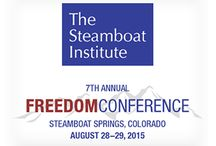Freedom Conference / PRESENTED BY THE STEAMBOAT INSTITUTE  The premier conservative public policy conference in the Rockies! This high-energy 2-day event features the nation's conservative thought leaders, America's most patriotic rock band Madison Rising, and a scenic gondola ride to the keynote dinner at Thunderhead, featuring keynote speaker LAURA INGRAHAM.  http://impressioncampaigns.com/freedom-conference/