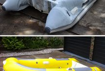 How to Repair an Inflatable Boat / How to Repair Slow Leaks in Inflatables using Inflatable Boat Sealant and also How to Restore and Protect you Inflatables Tubes by repainting them with Topside Inflatable Boat Paint.