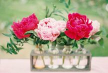 bright centerpieces / by Mallory Joyce Design