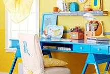 For craft room/study / by Andrea Fletcher