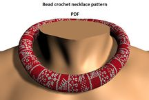 Bead Patterns my designs / bead crochet ropes, beaded purses. jewelry