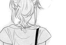Girl manga