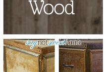 DIY CRAFTS - DRIFT WOOD - OLD WOOD