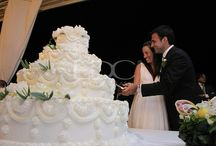 wedding cake - sweet table