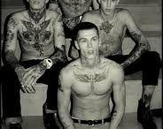 rockabilly tattoo designs men
