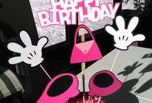 Fiesta infantil Minnie