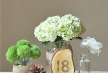 Table numbers & tags.