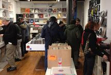 Record stores I've visisted