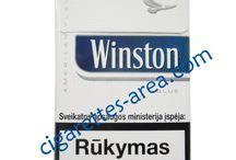 WINSTON cigarettes / WINSTON brand cigarettes