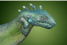 Art - Guido Daniele - Hand Art / The most amazing hand art by Guido Daniele.