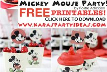 Mickey mouse birthday / by Chelsey Koch