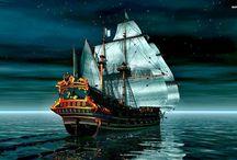 Mare e navi / Foto o dipinti di mare,navi paesaggi marini