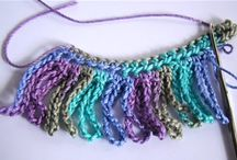 crocheted fringe
