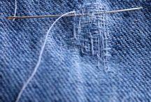 Handy tips / Repairing holes in jeans