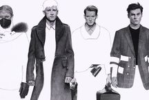 fashion illustration - Menswear