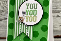 SU - 2015-16 Annual Catalog / Stamped cards and projects using SU items in the 2015-2016 Annual Catalog that I have pinned for you!  Barb Mann Stampin'Up! Demonstrator