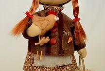 Dolls 2 / Текстильные куклы, интерьерные куклы