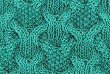 Crochet and knitting 2 - Вязание 2 / Узоры, идеи для вязания
