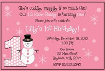 Lilly's First Birthday / by Brandi Temple