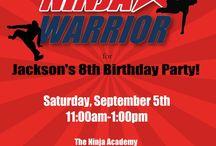 Jax Ninja Warrior Bday