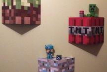 Daniels minecraft room!