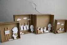 Papierowa diorama