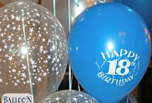 18th Birthday Balloon Decor