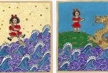 Belső gyermek / A harmonikus, boldog élethez elengedhetetlen, hogy szembenézzünk a bennünk élő belső gyermekkel  Az asztrológiában a benső gyermeket a Hold jelképezi. Mivel Holdam a  Kosban áll, a belső gyermek leggyakrabban piros ruhás, spontán, eleven kislányként jelenik meg álmaimban. Az álomban felbukkanó gyermek egyszersmind a mély én szimbóluma is, a kreativitás, megújulás , bölcsesség  forrása.