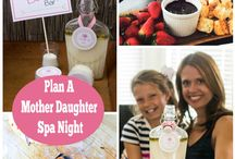 Mother-Daughter Spa Day at Home