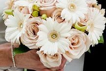 Wedding flowers with Gerbera's