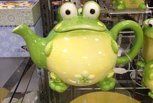 Frosch-Teepott