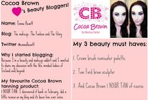 Featured Beauty Bloggers / All our lovely Cocoa Brown Beauty Bloggers of the Week. If you would like to be featured email your answers to the questions you see to stephanie@cocoabrown.ie <3