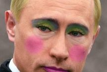 Putin / some funny gay