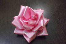 Selyem virág ötletek
