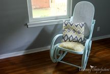 Rocking-chair chair